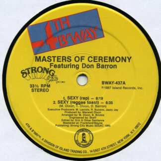 Masters Of Ceremony (2) Featuring Don Barron* - Sexy (12