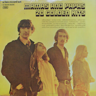 Mamas And Papas* - 20 Golden Hits (2xLP, Comp, Gat)