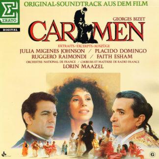 Georges Bizet / Julia Migenes Johnson* / Placido Domingo / Ruggero Raimondi / Faith Esham / Lorin Maazel / Orchestre National De France / Chœur* Et Maîtrise De Radio France - Carmen (Auszüge), Original Soundtrack (LP, Album)