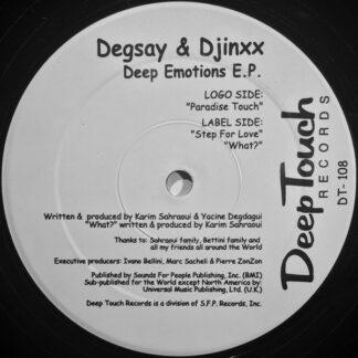 Degsay & Djinxx - Deep Emotions E.P. (12