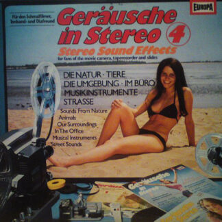 No Artist - Geräusche In Stereo 4 (Stereo Sound Effects) (LP)