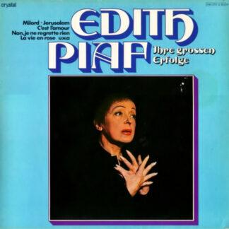 Edith Piaf - Ihre Grossen Erfolge (LP, Comp, Mono, RE)