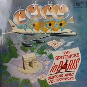 The Spotnicks - The Spotnicks In Paris (LP, Album)