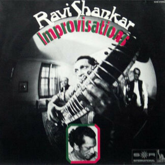 Ravi Shankar - Improvisations & Theme From Pather Panchali (LP)