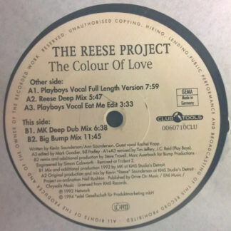 The Reese Project - The Colour Of Love (12