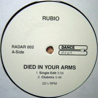 Rubio - Died In Your Arms (12