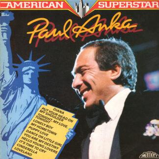 Paul Anka - American Superstars (LP, Comp)