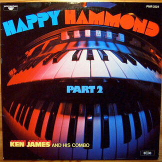 Ken James And His Combo - Happy Hammond Part 2 (LP, Album)