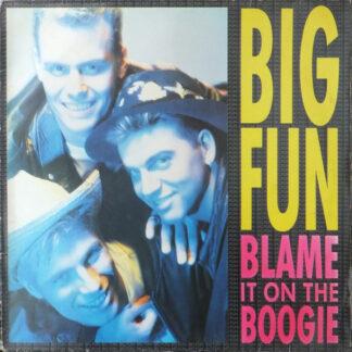 Big Fun - Blame It On The Boogie (12