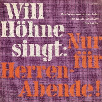 Will Höhne - Singt: Nur Für Herren-Abende! (7