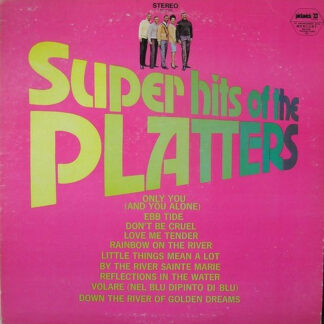 The Platters - Super Hits Of The Platters (LP, Comp)