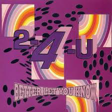 Two 4 You - Better Let You Know (12
