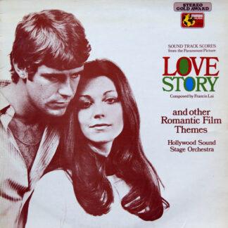 Hollywood Sound Stage Orchestra* - Love Story - Bande Originale Du Film (LP)