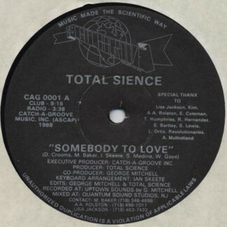 Total Sience* - Somebody To Love (12