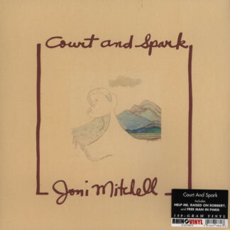 Joni Mitchell - Court And Spark (LP, Album, RE, RM, 180)