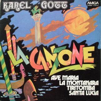 Karel Gott - La Canzone (LP, Album, RP)