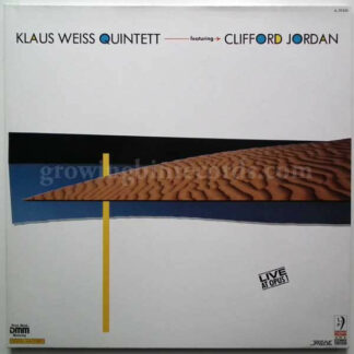 Klaus Weiss Quintett* Featuring Clifford Jordan - Live At Opus 1 (2xLP, Album)