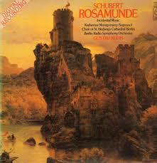 Schubert* / Katherine Montgomery / Choir Of St. Hedwig's Cathedral, Berlin* / Berlin Radio Symphony Orchestra* / Gustav Kuhn - Rosamunde - Gesamtaufnahme (LP)