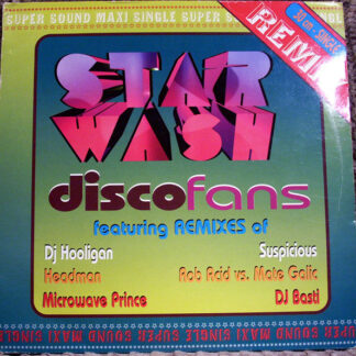 Star Wash - Disco Fans (The Remixes) (2x12
