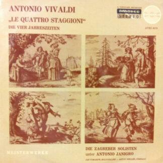 Antonio Vivaldi - Jan Tomasow, Anton Heiller, Die Zagreber Solisten*, Antonio Jangiro* -