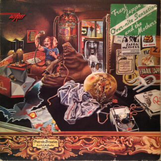 The Mothers - Over-Nite Sensation (LP, Album, Gat)