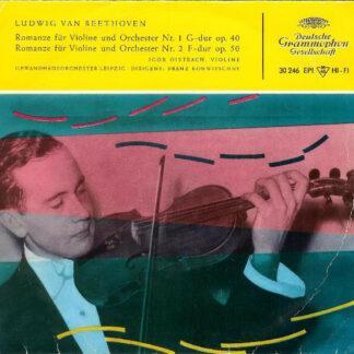 Ludwig van Beethoven - Igor Oistrach - Romanze Für Violine Und Orchester Nr. 1 G-Dur Op. 40 / Romanze Für Violine Und Orchester Nr. 2 F-Dur Op. 50 (7