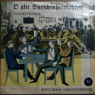 Various - O Alte Burschenherrlichkeit (10