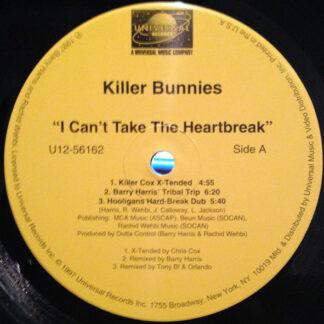 Killer Bunnies - I Can't Take The Heartbreak (12