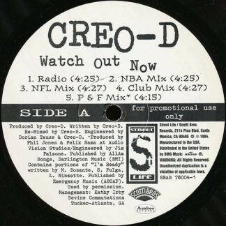 Creo-D - Watch Out Now (12
