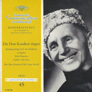 Der Don Kosaken Chor Serge Jaroff* - Die Don Kosaken Singen (7