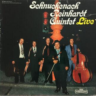 Schnuckenack Reinhardt Quintet* - Schnuckenack Reinhardt Quintet Live  (LP, Album, Gat)
