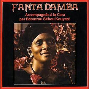 Fanta Damba Accompagnée A La Cora Par  Batourou Sékou Kouyaté* - Untitled (LP, Album, RE, RM)