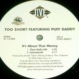 Too Short Featuring Puff Daddy - It's About That Money (12