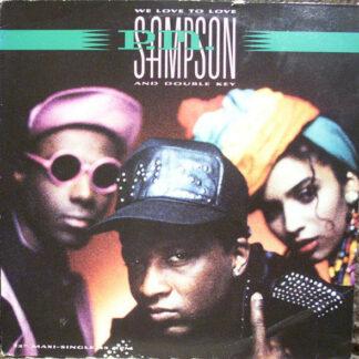 P.M. Sampson & Double Key - We Love To Love (12