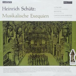 Heinrich Schütz - Musikalische Exequien (LP)
