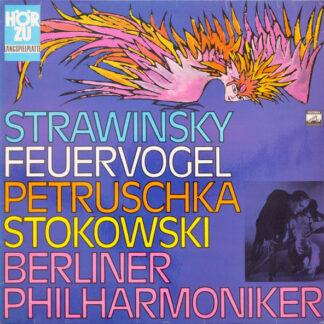 Strawinsky*, Stokowski*, Berliner Philharmoniker - Feuervogel / Petruschka (LP, Gre)