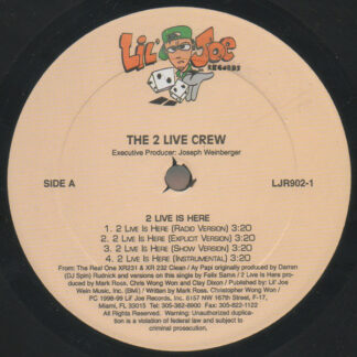 The 2 Live Crew - 2 Live Is Here / Ay Papi (12