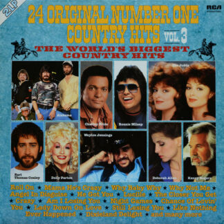 Various - 24 Original Number One Country Hits Vol. 3 (2xLP, Comp)
