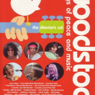 Various - Woodstock: 3 Days Of Peace And Music: Ultimate Collector's Edition (4xDVD-V, Copy Prot., RM, PAL)
