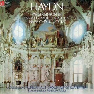 """Haydn*, Collegium Aureum - Pariser Sinfonien (Nr.83 G-Moll """"La Poule"""" / Nr.82 C-Dur """"L'Ours"""") (LP)"""