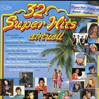 Various - 32 Super Hits Aktuell (2xLP, Comp, Gat)