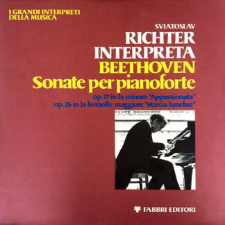 Sviatoslav Richter - Richter Interpreta Beethoven - Sonate Per Pianoforte (LP, Gat)