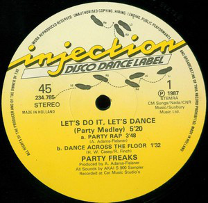 Party Freaks (2) - Let's Do It, Let's Dance (Party Medley) (12