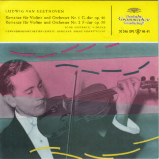 Ludwig van Beethoven - Igor Oistrach - Gewandhausorchester Leipzig Dirigent: Franz Konwitschny - Romanze Für Violine Und Orchester (7
