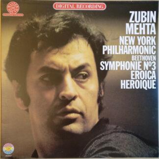 Beethoven*, Zubin Mehta / New York Philharmonic* - Symphonie N°3 Eroica = Héroïque (LP, Gat)