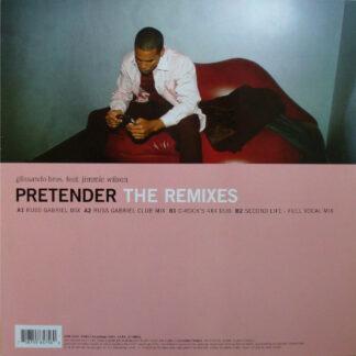 Glissando Bros. Feat. Jimmie Wilson (2) - Pretender (The Remixes) (12