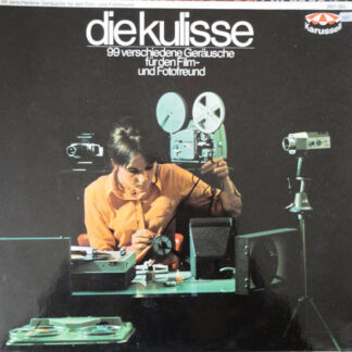 No Artist - Die Kulisse / 99 Verschiedene Geräusche Für Den Film- Und Fotofreund (2xLP)