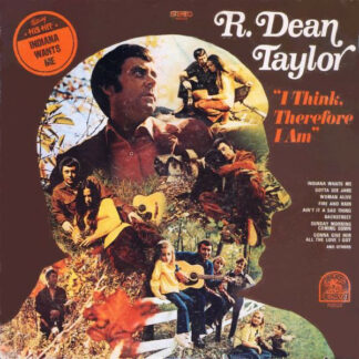 R. Dean Taylor - I Think, Therefore I Am (LP, Album)