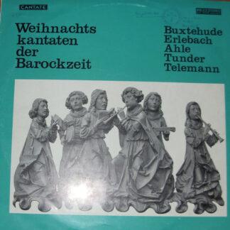 Various - Weihnachtskantaten Der Barockzeit (LP)