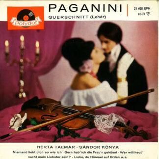 Franz Lehár - Herta Talmar - Sándor Kónya - Paganini (Querschnitt) (7